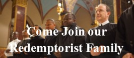 Come Join our Redemptorist Family